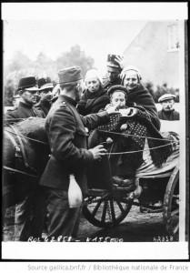 refugiés 1914